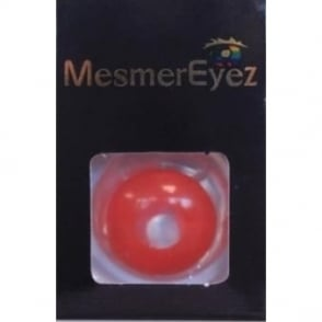 Fancy Dress Halloween Mini Sclera Contact Lenses - Bloody Red (Usage:1,3,12 Months - 1 Pair)