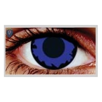 Fancy Dress One Day Halloween Contact Lenses - Dark Elf (1 Pair)