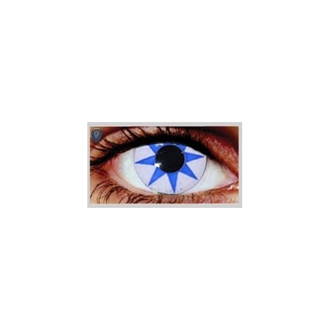 Mesmereyez Xtreme Fancy Dress One Day Halloween Contact Lenses - Pointed Star (1 Pair)