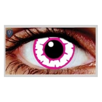 Fancy Dress One Day Halloween Contact Lenses - Temptress (1 Pair)