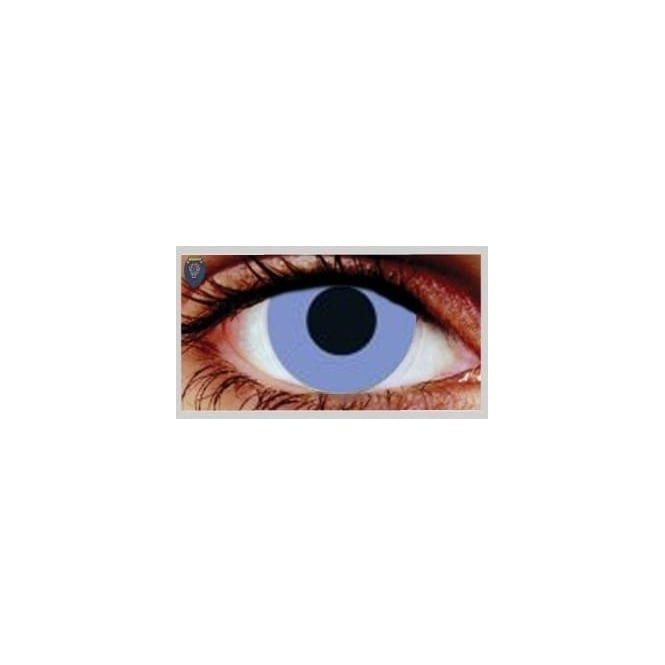 Mesmereyez Xtreme Fancy Dress One Day Halloween Contact Lenses - Violet Out (1 Pair)