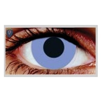 Fancy Dress One Day Halloween Contact Lenses - Violet Out (1 Pair)