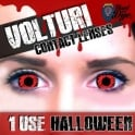 Mesmereyez Xtreme Fancy Dress One Day Halloween Contact Lenses - Volturi (1 Pair)