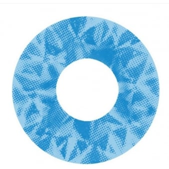 Halloween Contact Lenses - M Ran Blue UV (1 Pair)