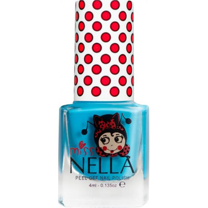 Miss Nella Nail Polish For Kids - Mermaid Blue 4ml