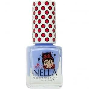 Miss Nella Peel Off Nail Polish For Kids - Blue Bell 4ml
