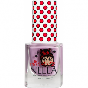 Miss Nella Peel Off Nail Polish For Kids - Bubble Gum 4ml