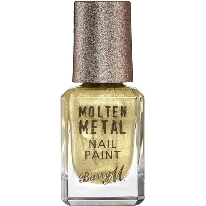 Barry M Molten Metal 2016 Nail Polish Collection - Gold Digger 10ml (MTNP2)