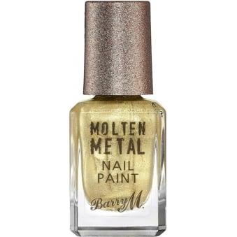 Molten Metal 2016 Nail Polish Collection - Gold Digger 10ml (MTNP2)