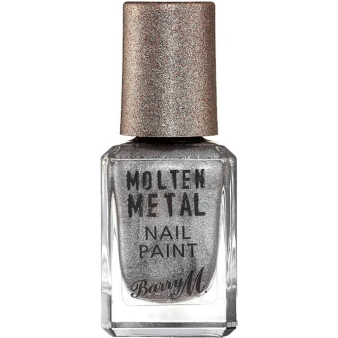 Barry M Molten Metal 2016 Nail Polish Collection - Silver Lining 10ml (MTNP3)