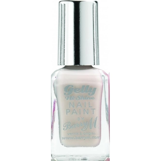 Barry M Nail Paint Gelly Hi-Shine 2014 Nail Polish - Coconut 10ml