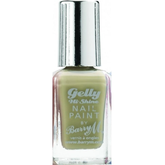 Barry M Nail Paint Gelly Hi-Shine 2014 Nail Polish - Olive 10ml