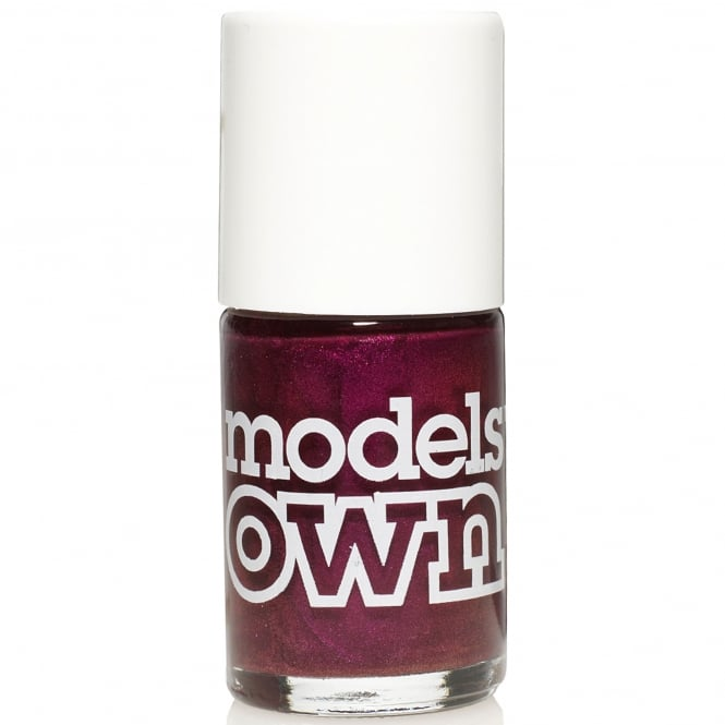 Models Own Nail Polish - Magenta Pearl (14ML) (NP085)
