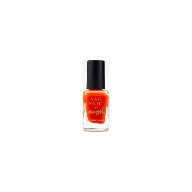 Barry M Nail Polish Paint - Block Orange 10ml (301)