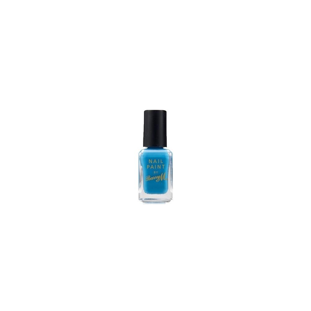 Blue Nail Varnish Uk: Barry M Nail Polish Paint
