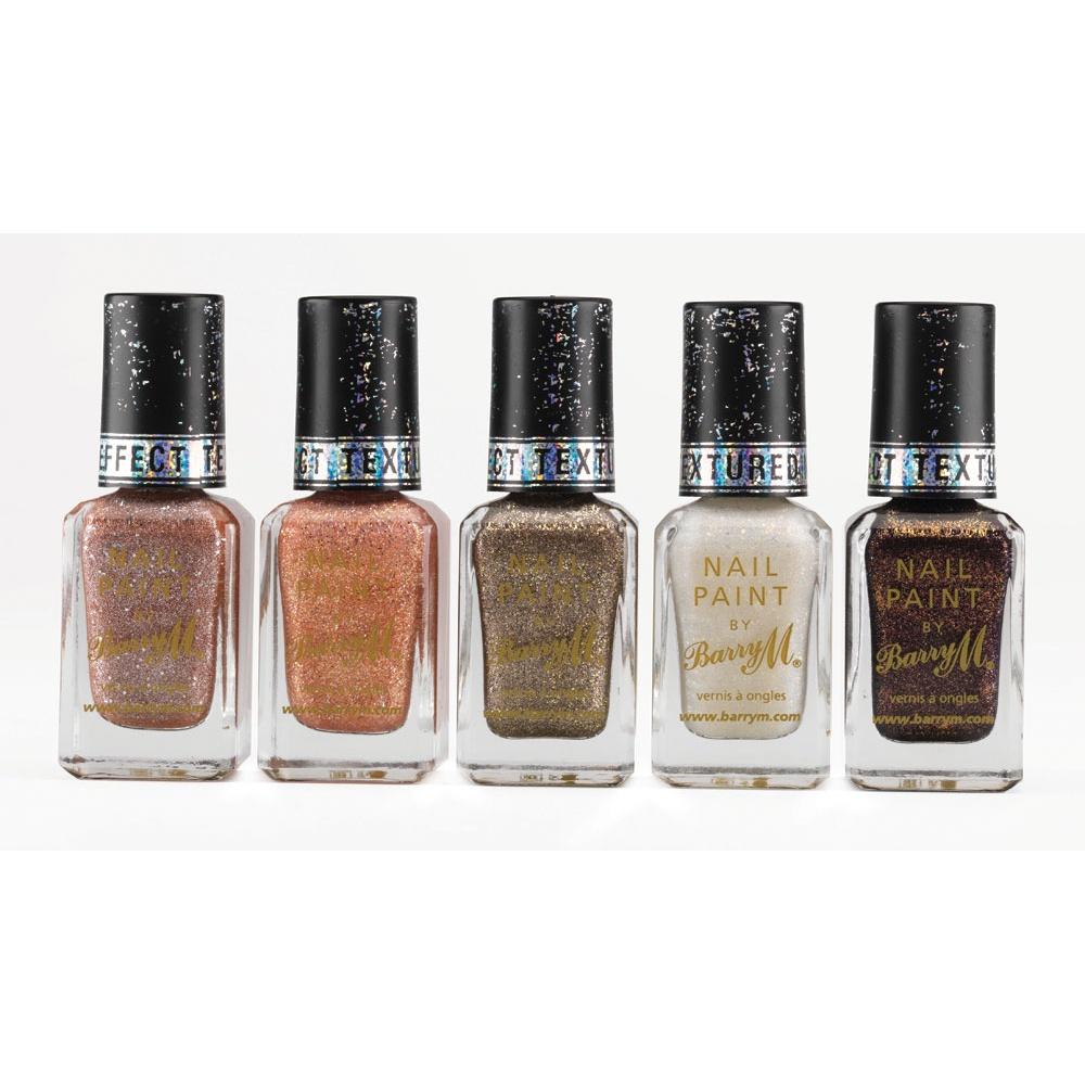 Barry M Nail Polish Royal Glitter Textured Nail Paint - Countess 10 ml