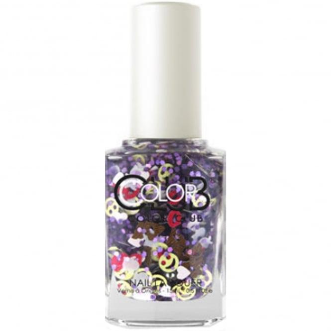 Color Club Nailmoji Holographic Glitter Nail Polish Collection - LOL (05ALS44) 15ml