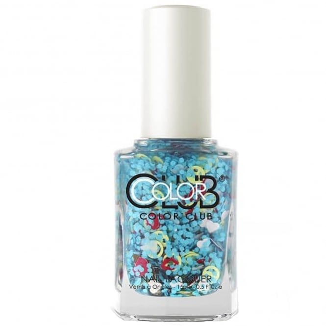 Color Club Nailmoji Neon Nail Polish Collection- Chill (05ALS36) 15ML
