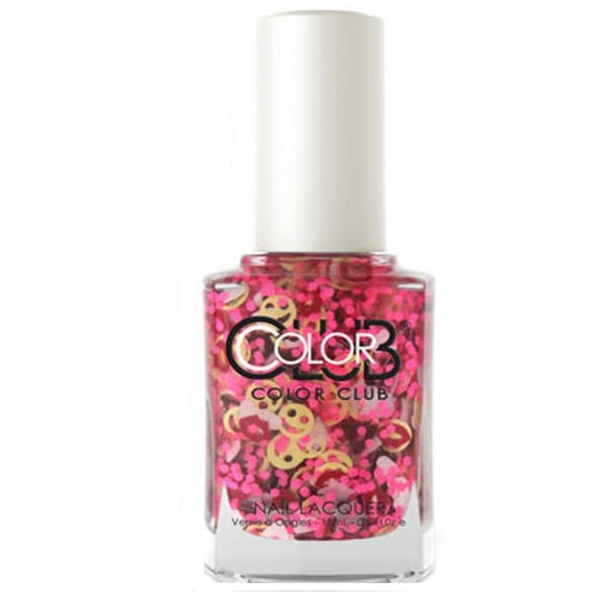 Color Club Nailmoji Neon Nail Polish Collection- OMG (05ALS32) 15ML