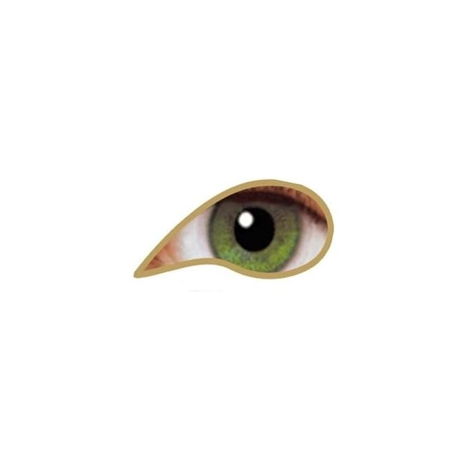 MesmerEyez Natural 1 Day Coloured Contact Lenses - illusionz - Olive Green (1 Pair)