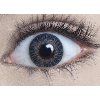 Natural Coloured Contact Lenses Natural Blendz - Sea Blue (Usage:1,3,12 Months - 1 Pair)