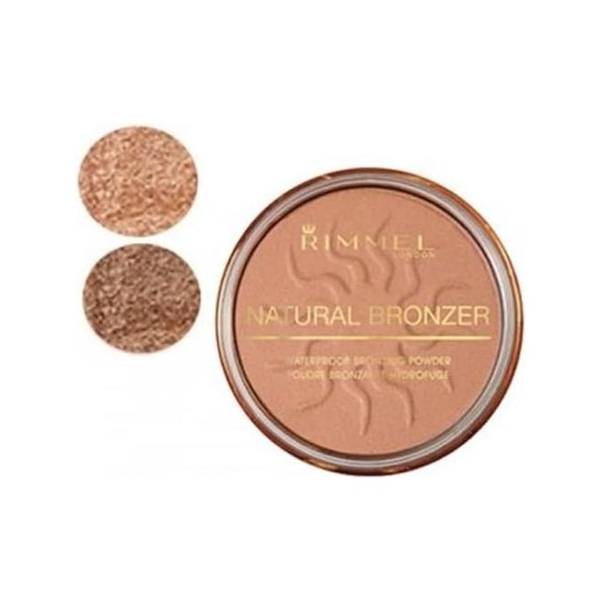 Rimmel Natural Waterproof Bronzing Powder 14g
