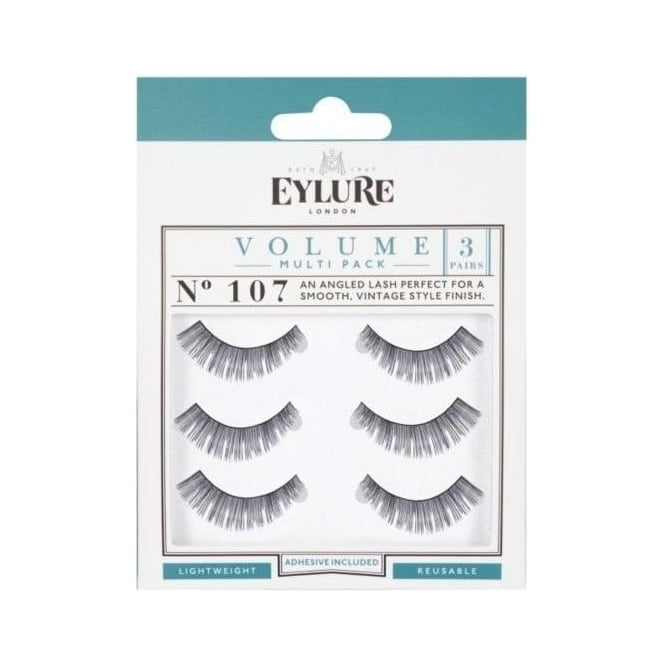 Eylure Naturalites Evening Wear False Eyelashes - 107 (3 Pairs)