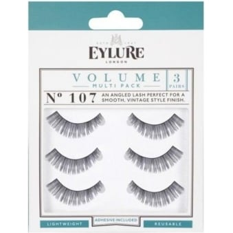 Naturalites Evening Wear False Eyelashes - 107 (3 Pairs)