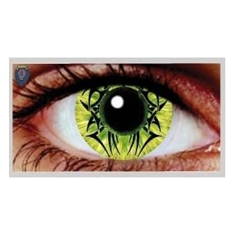 One Day Scary Extreme Halloween Contact Lenses - Celtic Venom (1 Pair)