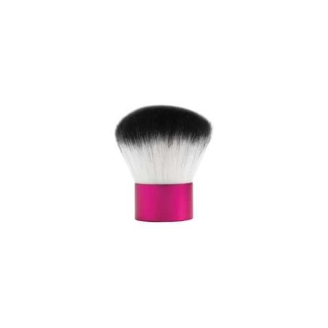 Barry M Pink and White Synthetic Bronzer Brush