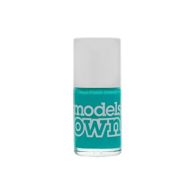 Models Own Polish For Tans Nail Polish Collection - Turquoise Sea (NP248) 14mL