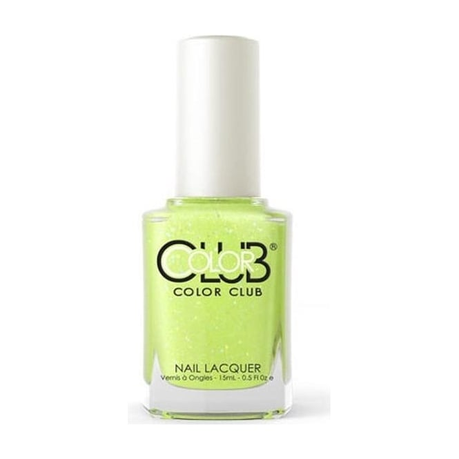 Color Club Poptastic Pastel Neon Remix Nail Polish Collection - It's Electric 15mL (ANR10)