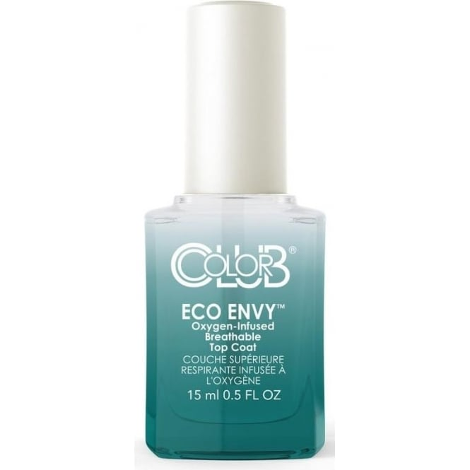 Color Club Professional Treatment Peaceful Oxygen Breathable Topcoat - Eco Envy 15ml