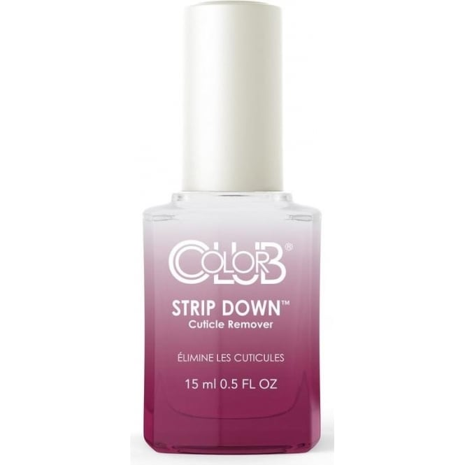 Color Club Professional Treatment Protect Cuticle Remover - Strip Down 15ml