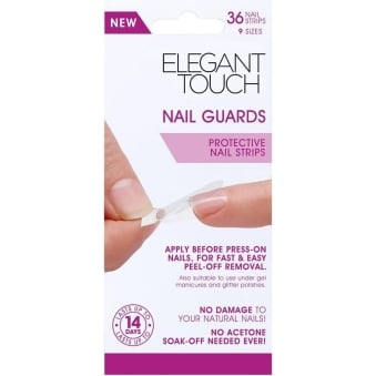 Protective Nail Strips - Nail Guards (36 Pack)