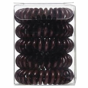 Quif Magibobble Hair Ring Bobbles - Mahogany (x 5 Pieces)