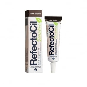 RefectoCil - Sensitive - Eyelash And Eyebrow Tint - Dark Brown 15ml