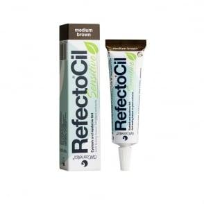 RefectoCil - Sensitive - Eyelash And Eyebrow Tint - Medium Brown 15ml