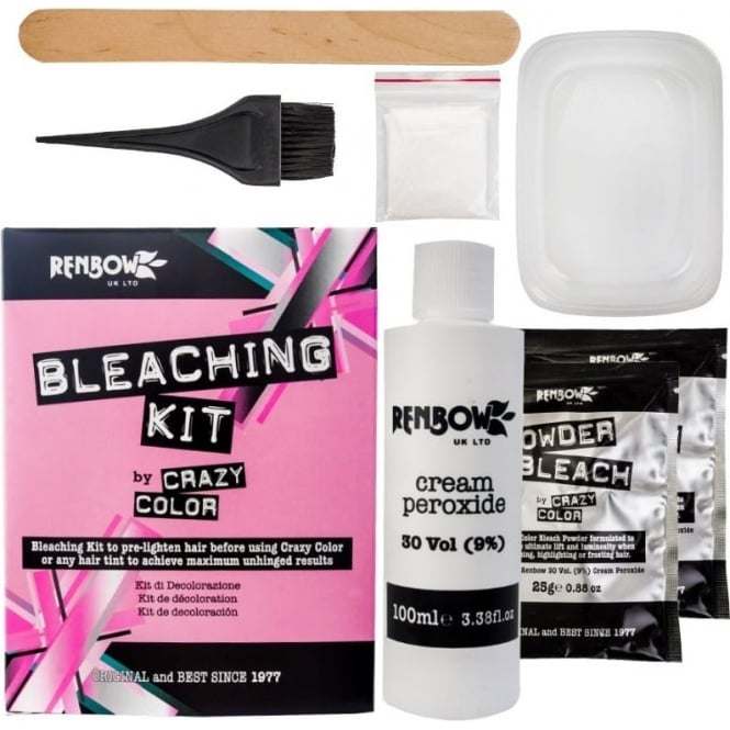 Crazy Color Hair Dye Renbow Crazy Color® Bleaching Kit