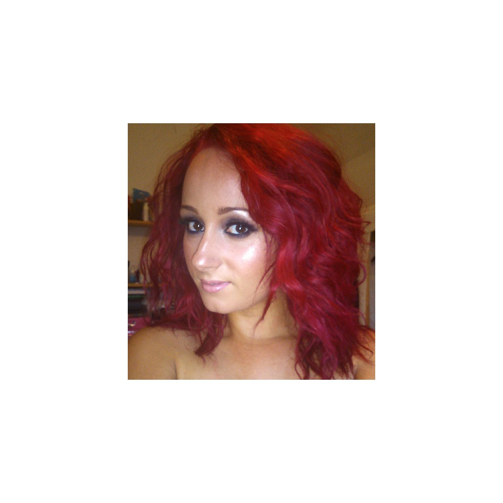 Renbow Crazy Colour Semi Permanent Hair Dye Vermillion Red