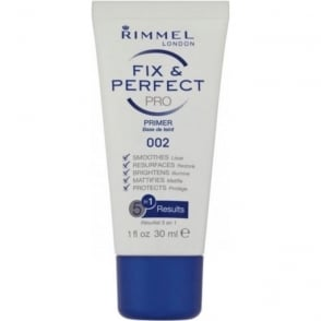 Rimmel London - Fix & Perfect Pro Primer 002 - 5 in 1 Results