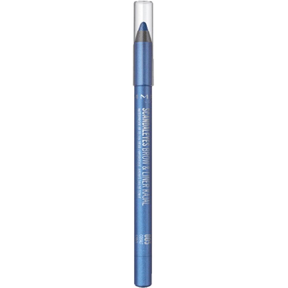 229ebda6e02 Rimmel London Scandaleyes - Brow & Liner Kajal - Cobalt Craze (005)