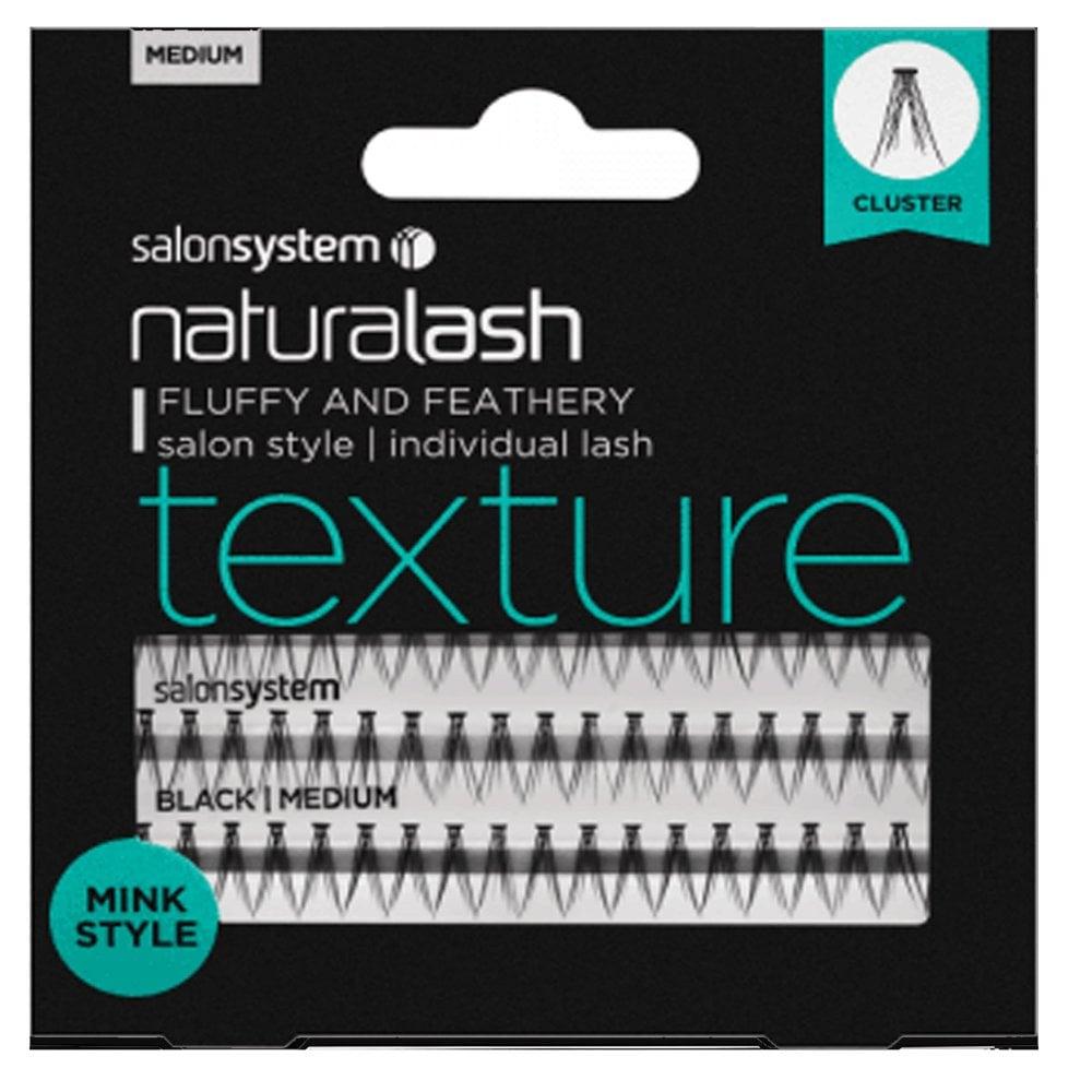 45e0955708d NaturaLASH - Texture - Individual Lashes - Mink (Medium Black)