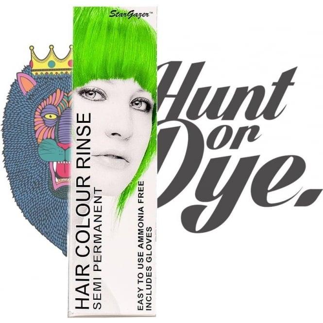 Stargazer Semi Permanent Hair Dye - African Green
