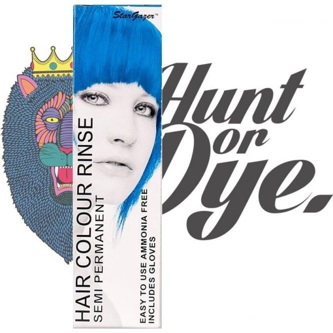 Stargazer Semi Permanent Hair Dye - Coral Blue