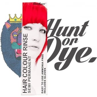 Semi Permanent Hair Dye - Foxy Red