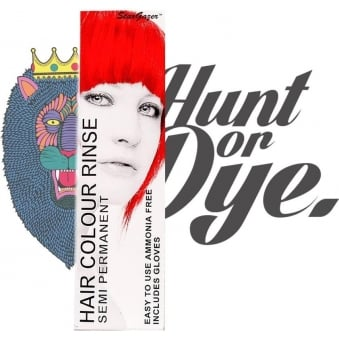 Semi Permanent Hair Dye - Hot Red