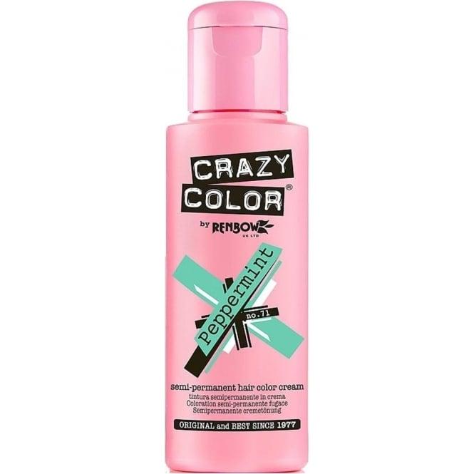 Crazy Color Hair Dye Semi Permanent Hair Dye - Peppermint