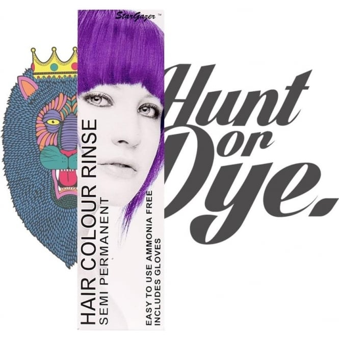 Stargazer Semi Permanent Hair Dye - Purple