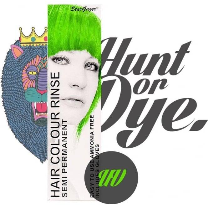 Stargazer Semi Permanent Hair Dye - UV Green